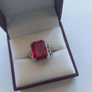 Classic Ruby Gemstone Ring